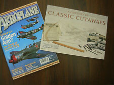 AEROPLANE MONTHLY MAGAZINE JANUARY 2004 WITH CLASSIC CUTAWAYS SUPPLEMENT