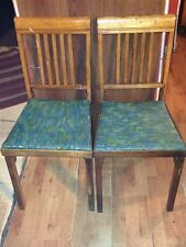 Antique 1900-1950s fold up chairs