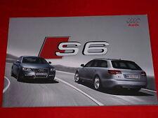 AUDI S6 C6 Limousine + Avant Prospekt von 2009