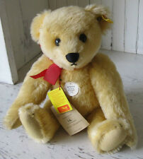 "❤Steiff ORIGINAL 1909 TEDDY BEAR REPLICA 15"" 0165/38 GOLD 1983-88 ID's Jointed❤"