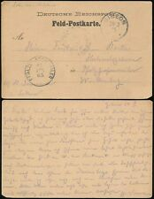 GERMAN SOUTH WEST AFRICA 1905 SOLDIERS MAIL FELD POSTCARD STATIONERY...GIBEON