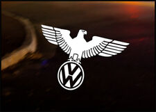 VW Wolfsburg Eagle autocollant Voiture Sticker VW Camper Bus Golf Beetle Bug dub