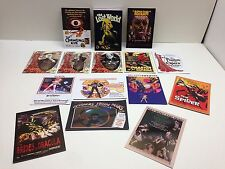 MOVIE POSTERS: SCI-FI & HORROR SERIES 2 Base Card Set w/ ALL 8 CHASE & 6 PROMOS