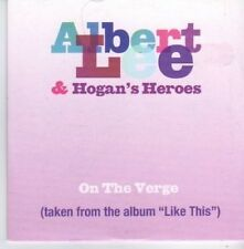 (AQ614) Aibert Lee & Hogan's Heroes,On The Verge- DJ CD