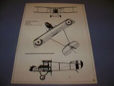 VINTAGE..DE HAVILLAND DH-2 ..3-VIEWS ..RARE! (13A)