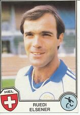 N°161 RUEDI ELSENER # SWITZERLAND STICKER PANINI EUROFOOTBALL 82