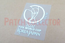 FIFA World Cup 2002 Korea Japan White Sleeve Soccer Patch / Badge