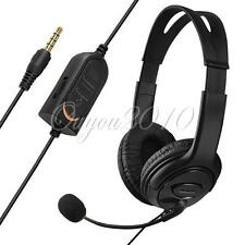 Wired Auriculares Cascos Gaming Headset Micrófono para Sony PlayStation 4 PS4