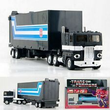 Top G1 Reissue TRANSFORMERS AUTOBOT Black Optimus Prime Spielzeug Kinder