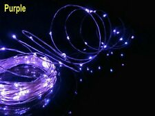 5M Wire 12V 50LEDS Colorful Strip String Fairy Light Christmas Party Decro