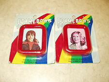 FRAMEBOWS MINIATURE PICTURE FRAMES(VINTAGE,1980,SCHOOL PICTURES,FAMILY PHOTOS