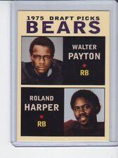Walter Payton/Roland Harper 1975 Chicago Bears Draft Picks #2 rookie stars