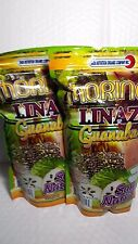 2  PACK OF MORINGA LINAZA AND GUANABANA 14 OZ EACH 01/2018 MADE IN USA