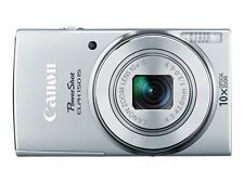 Canon PowerShot ELPH 180 Digital Camera, Silver #1093C001 - New In Box!