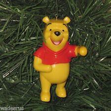 Large Winnie The Pooh Bear - Custom Christmas Tree Ornament - DISNEY ~ Rattles