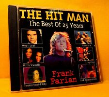 CD Pop Frank Farian The Hit Man The Best Of 25 Years 20TR 1994 Pop Rock Funk