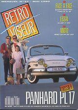 RETROVISEUR n°21 05/1990 PANHARD PL17 ALLARD J2 BUGATTI 35,51,59 MONET-GOYON 350