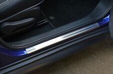 TO FIT NISSAN JUKE: CHROME DOOR SILL TRIM COVERS SCUFF PROTECTORS SET