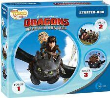 Dragons - Die Reiter von Berk - Dragons Starter-Box - Folge 1 bis 3 (3 CDs)