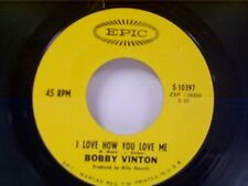 "BOBBY VINTON ""I LOVE HOW YOU LOVE ME / LITTLE BAREFOOT BOY"" 45"
