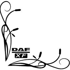DAF XF Side Window Decals Stickers x 2