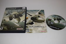 Ace Combat 5 The Unsung War Sony Playstation PS2 Game Complete Tested