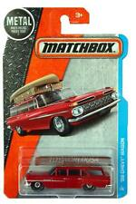2016 Matchbox #01 MBX Adventure City '59 Chevy Wagon