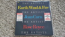 Earth Wind & Fire/ Jean Carn/ Rose Royce 12'' Mixes Disco Vinyl & Interviews