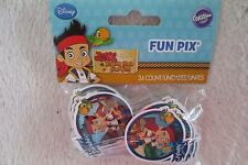 Jake and The Never Land Pirates Fun Pix 24 Count Cupcakes Top Wilton New