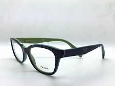PRADA VPR 20P COLOR OAB-1O1 BLUE PLASTIC EYEGLASSES FRAME SIZE 52MM