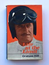 Graham Hill Hand Signed Life At The Limit Book Formula 1.