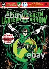 GREEN LANTERN GREEN ARROW 90 COVER PRINT