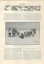 1903 Rc Carter North Pole Expedition Otter Hounds In Arran