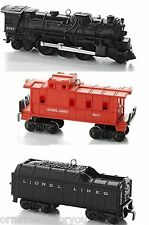 Hallmark 2013 Lionel 2037 Steam Locomotive set of 3