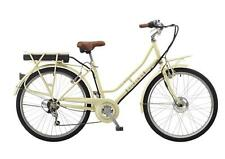 "Viking Mayfair Ladies 26"" Wheel 6 Speed 250W 36V Heritage Electric Bike Cream"