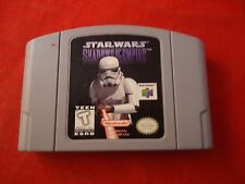 Star Wars: Shadows of the Empire (Nintendo 64, 1996) N64 game WORKS! Starwars