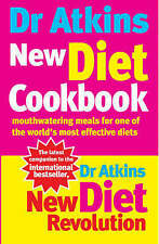ATKINS,R C-DR ATKINS NEW DIET COOKBOOK BOOK NEW