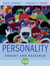 Personality: Theory and Research, Pervin, Lawrence A., Cervone, Daniel, Good Boo