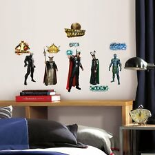 THOR Movie 30 Marvel Avengers Wall Decals Stickers Room Decor Peel Stick Loki