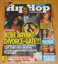 KOBE BRYANT HIP HOP WEEKLY VOL. 7 NO. 1 COLLECTIBLE MAGAZINE