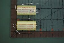 SIEMENS Axial Audio Capacitor 2200uf 25v  18mm X 40mm  2200mfd  2 pcs
