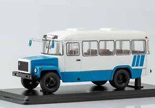 KVZ 3976 white-blue suburban bus SSM 4017 1:43