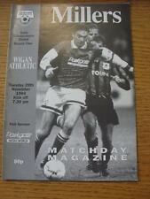 29/11/1994 Rotherham United v Wigan Athletic [Auto Windscreens Shield] . Item In