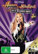 Hannah Montana And Miley Cyrus - Best Of Both Worlds Concert Tour (DVD, 2008)