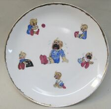 early BABY SNOOKUMS ceramic plate made in Baveria McManus comic strip character