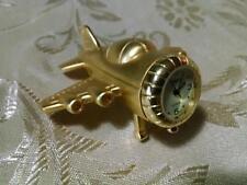 Miniature Clocks Timex Airplane