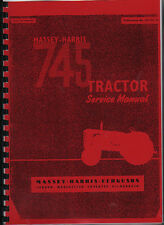 "Massey-Harris ""745"" Tractor Service Manual"