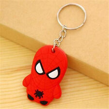 Comics Spyderman Keyring Keychain Japanese Anime Keyring Key Ring Chain Gift