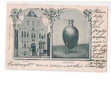 AK Jever (Friesland Oldenburg) 1900 Kiebitzbecher Rathaus