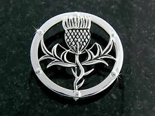 Pewter Scottish Thistle Pin (#JPEW5996)